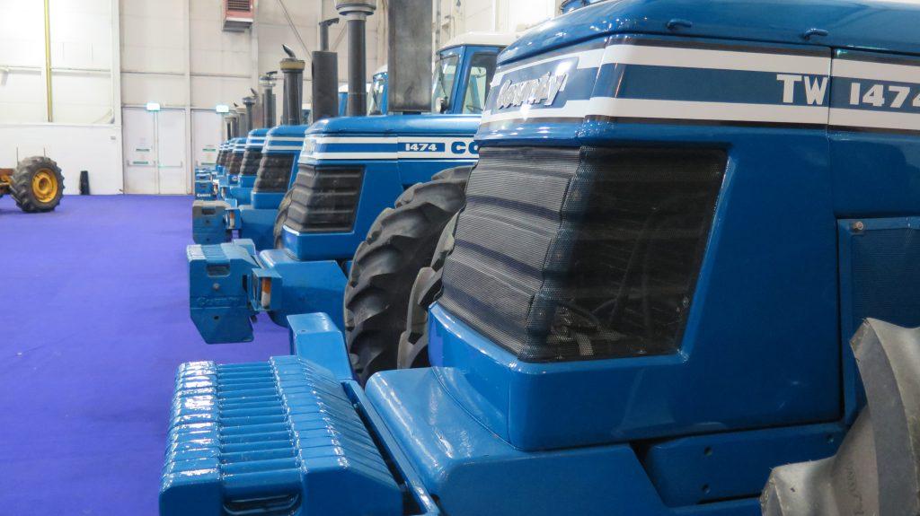 County Tractors set record breaking focus