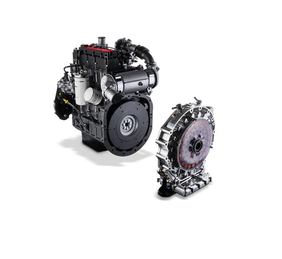 FPT unveils new hybrid diesel engine