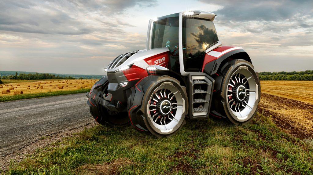 STEYR Konzept tractor wins Platinum Award in the 2020 MUSE Design Awards