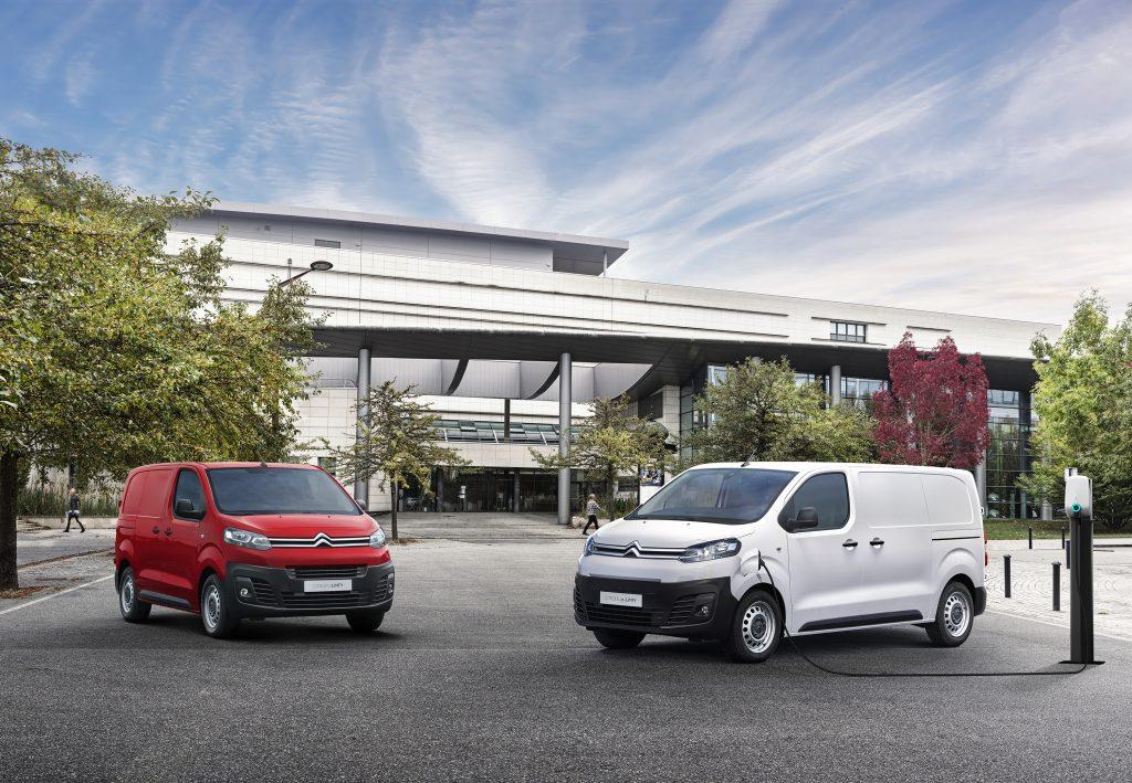Citroën unveils its 100% electric ë-Dispatch van