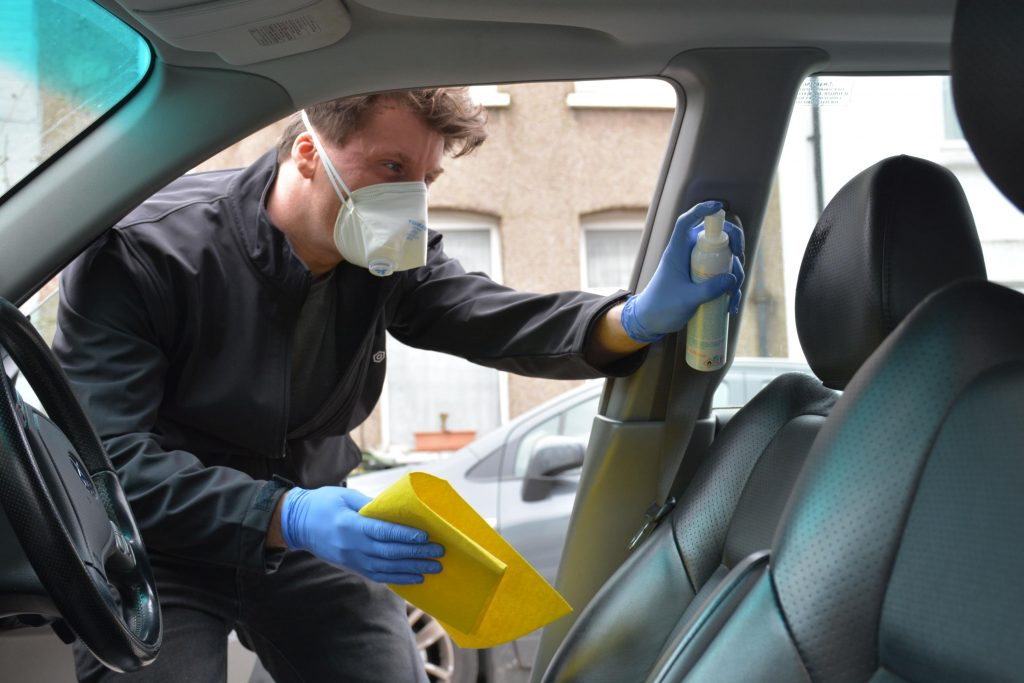 Car cleaning advice for COVID-19 lockdown