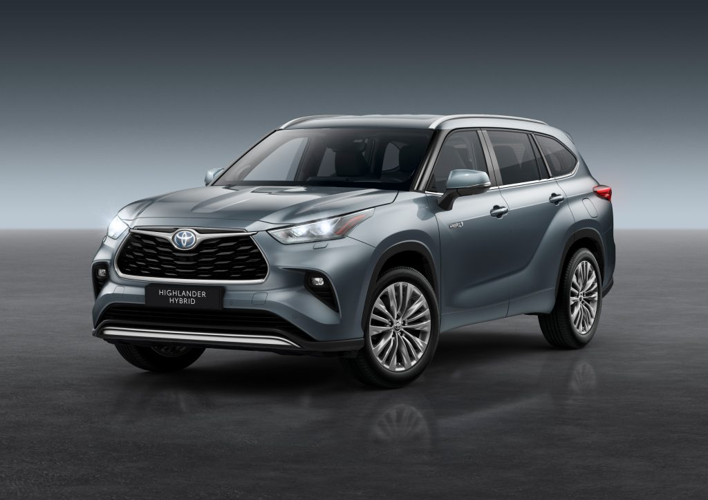Toyota to launch new 7-seater Highlander in Ireland