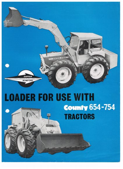 County Bomford Loaders 001