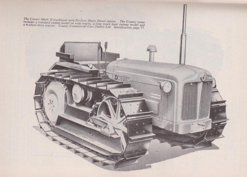 County Fordson Crawler FM book 1950 001