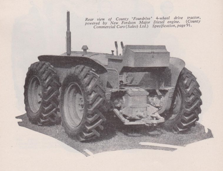 County Fordson Wheels 1950 001